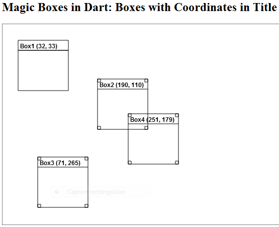 Alt Figure 03-04.02: Boxes with coordinates in title